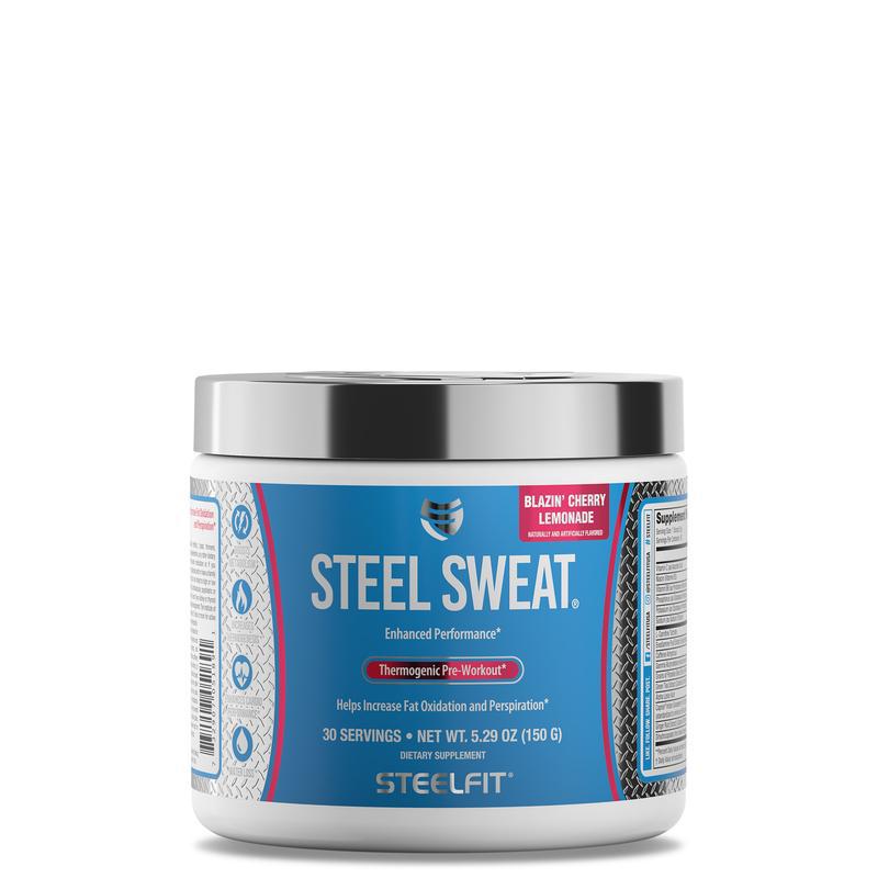 Steel Sweat - kalória, cukor és szénhidrát mentes italpor..
